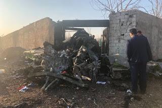 Ukraine passenger plane crash in iran capital