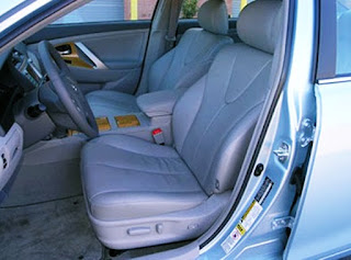 2007 Toyota Camry XLE V6 Owners Manual Seat