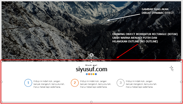 Menambah Dynamic Effect di Slide Powerpoint