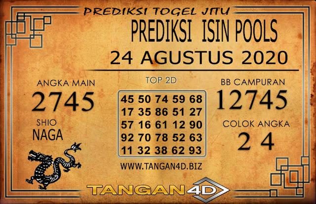PREDIKSI TOGEL ISIN TANGAN4D 24 AGUSTUS 2020
