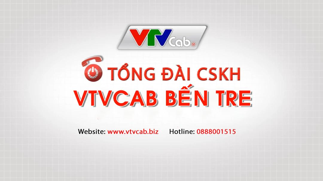 VTVCab Bến Tre - Tổng đài lắp truyền hình cáp Bến Tre