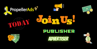 Join now Propellerads