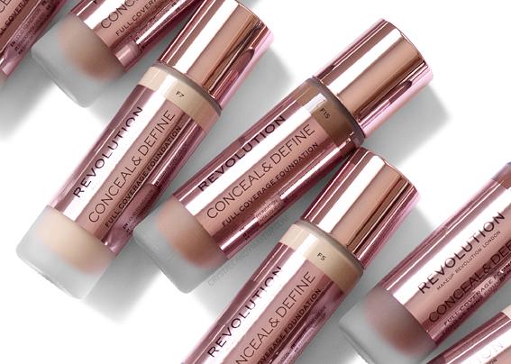 Fond Teint Liquide Conceal Define Makeup Revolution Avis Revue Avant Après