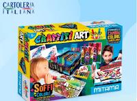 Vinci gratis 5 kit di colorazione creativa Graffiti Art
