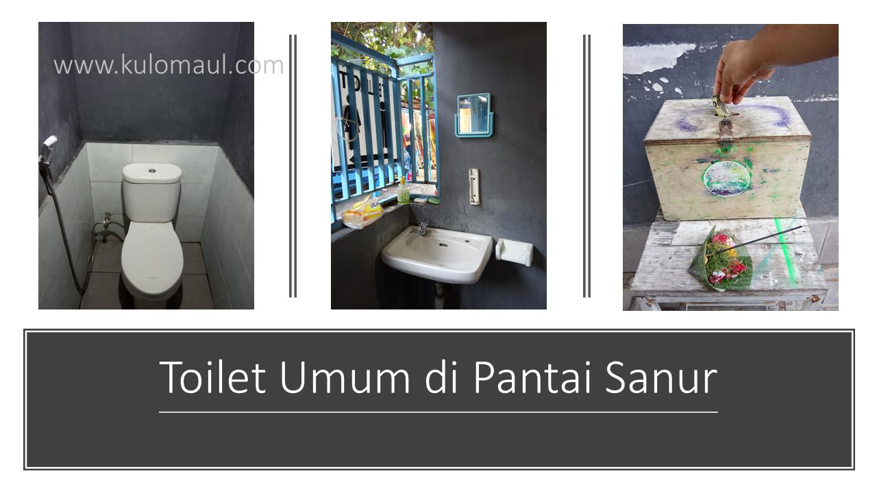 Toilet Pantai Sanur