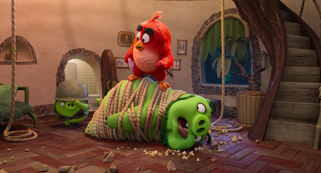The Angry Birds Movie 2 (2019) Dual Audio [Hindi-DD5.1] 720p BluRay ESubs Download