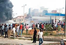 bomb explosion ecwa church jos