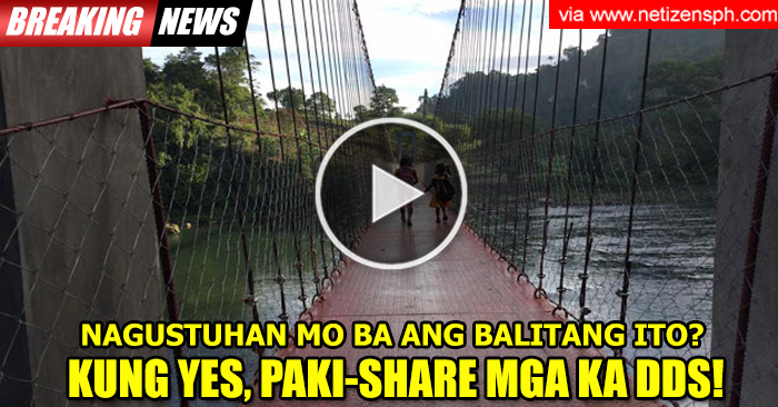 TATAK DUTERTE: How hanging bridge changes lives of Bukidnon students