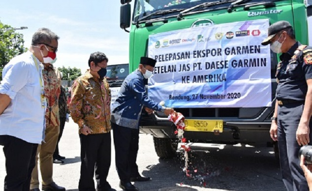 The Deputy Governor of West Java appreciates exports amid the pandemic