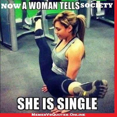 She is single
