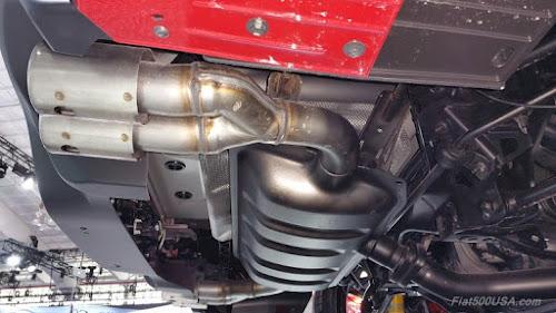 Fiat 124 Elaborazione Abarth Muffler