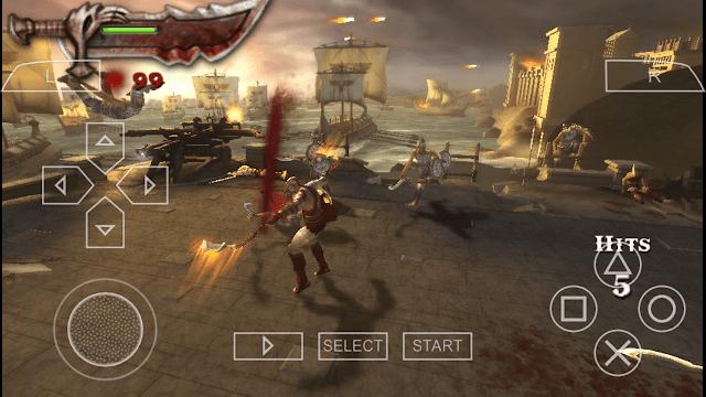 Download game God of War Chains of Olympus.iso via Google Drive dengan ukuran file hanya 80 MB kalian sudah bisa memainkan game yang populer di console PSP ini.