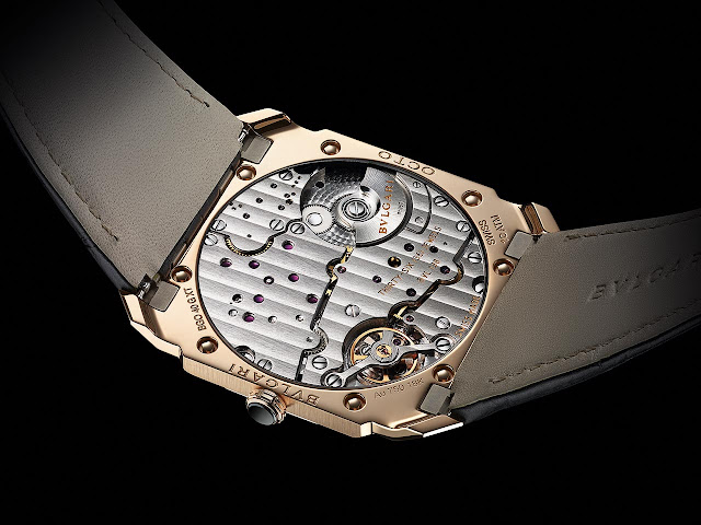 Bulgari Octo Finissimo Automatic in satin-polished rose gold ref. 103286