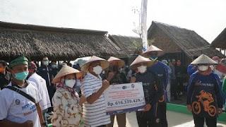 Bank Sumut Salurkan Dana CSR Rp 265 Juta Untuk Agrowisata Paloh Naga