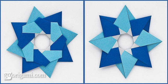How to make a paper Robin Star l Origami Robin Star l diy paper ... | 350x700