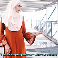 JUBAH DRESS UMBRELLA LATHIFA BY DYANA