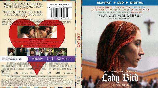 Lady Bird Bluray Cover