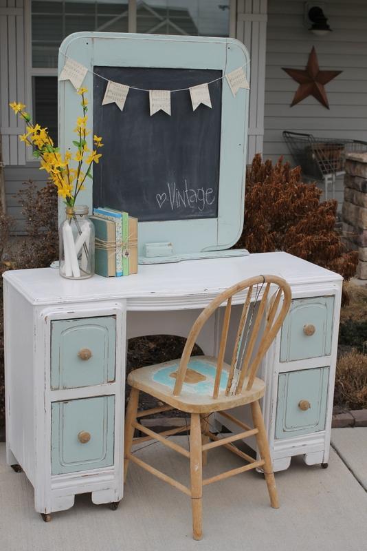 Whimsical Treasures Matching Dresser And Desk Set