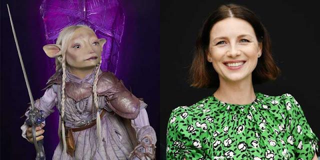 Caitriona Balfe es Tavra en 'Cristal Oscuro: La era de la Resistencia'