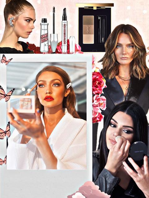 Secretos de maquillar las cejas