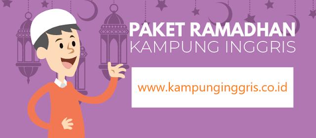 Paket Ramadan di Kampung Inggrris