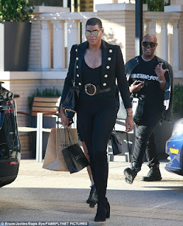 EJ Johnson steps out in style