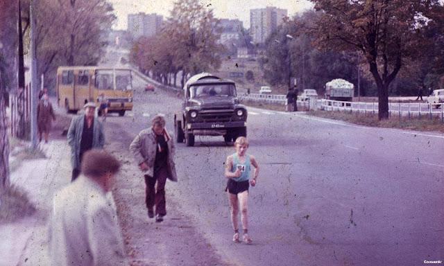 """Рига. Вид на Юглу со стороны остановки """"Баложи"""" возле Этнографического музея"""