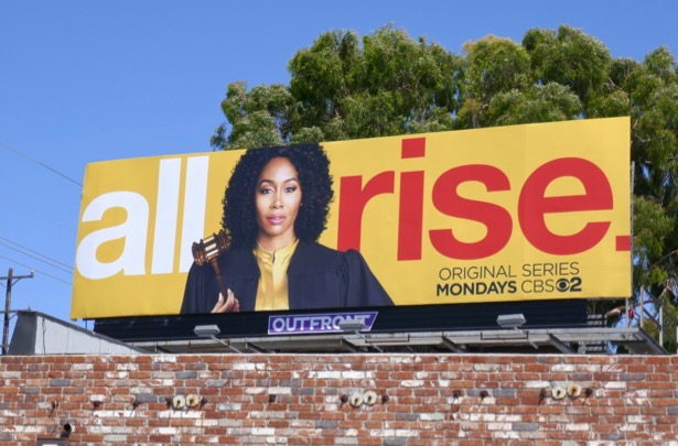 All Rise series premiere billboard