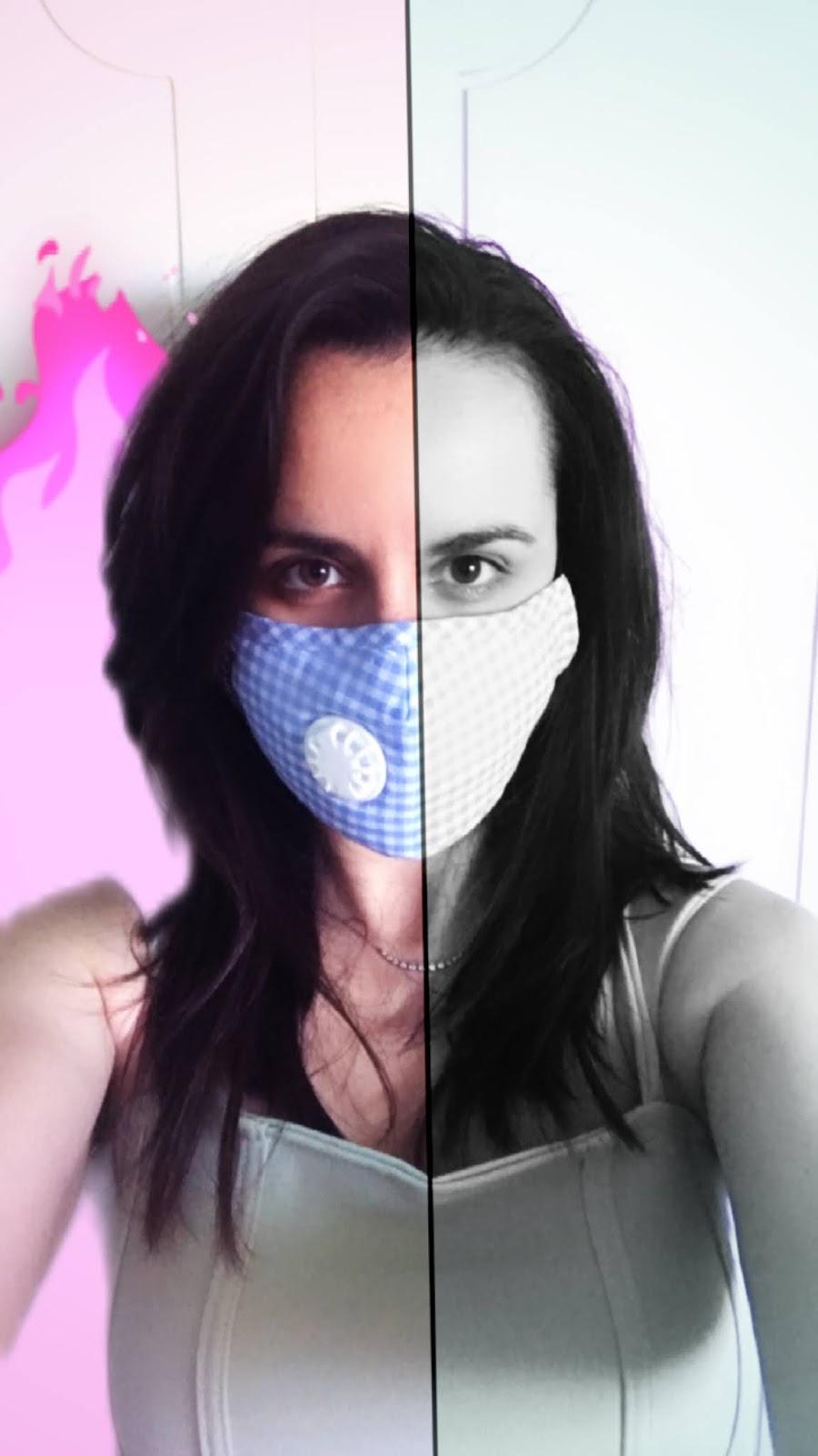 mascherina con filtro