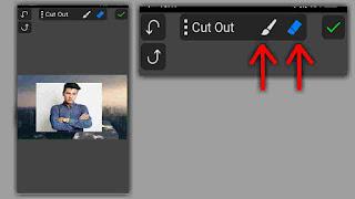 menghapus background di picsay pro