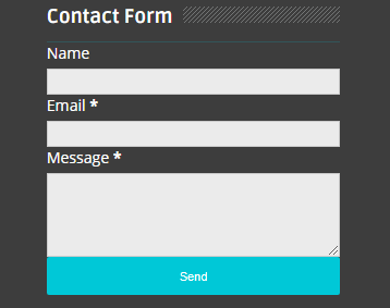 Hướng dẫn tùy chỉnh liên hệ từ widget trong Blog