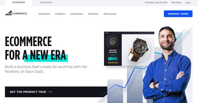 bigcommerce best website builder for small businesses ecommerce