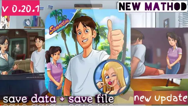 Summertime Saga 0.20  Save Data  | How to download Summertimesaga 0.20 Save Data