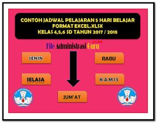 Contoh SK KBM Plus Aplikasi Jadwal Pelajaran