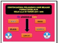 Download Contoh SK KBM  Plus Aplikasi Jadwal Pelajaran Terbaru Semua Jenjang