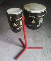 alat musik ritmis tradisional ketipung
