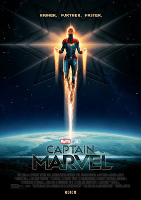Odeon Exclusive Captain Marvel Movie Poster by Matt Ferguson x Marvel