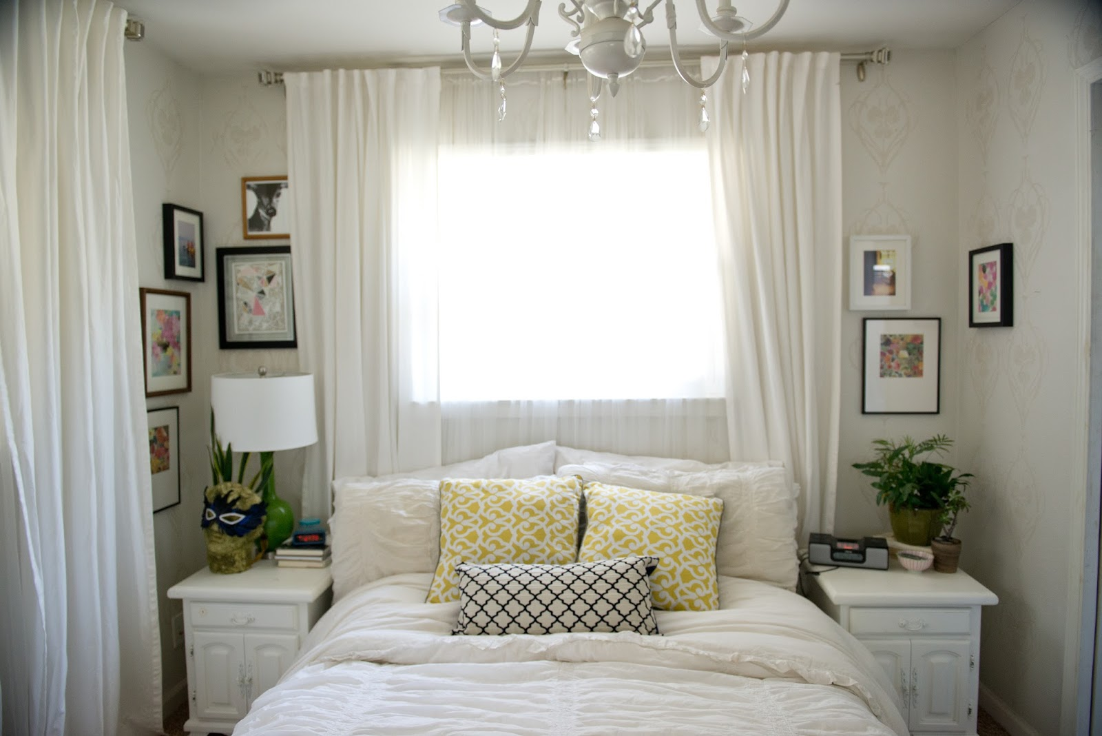 Domestic Fashionista A Colorful Bedroom For Now