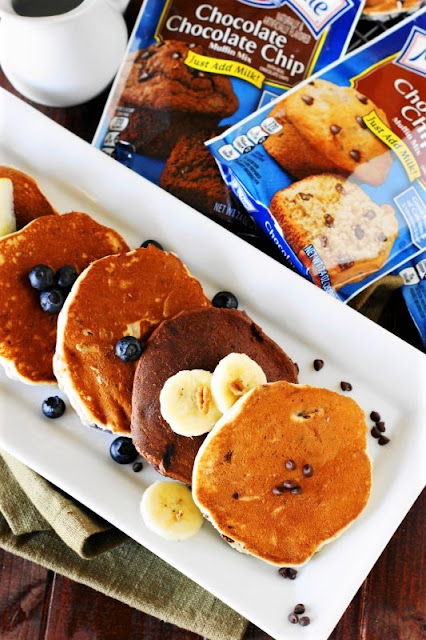 Pancakes Made with Martha White Muffin Mixes Image