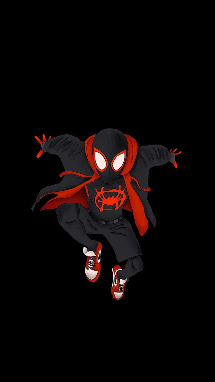 spider man into the spider verse mobile fondo de pantala uhd 4k