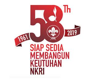 peringatan hari pramuka yang ke 58 tahun 2019