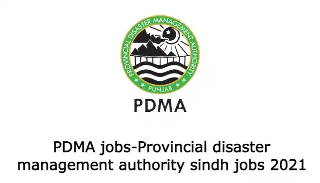 PDMA jobs-Provincial disaster management authority Sindh jobs 2021