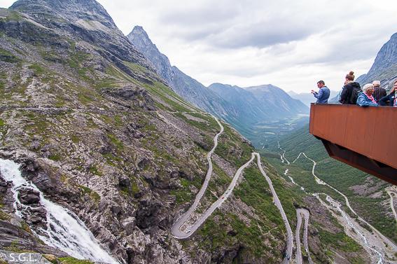 Detalle Trollstigen. Noruega