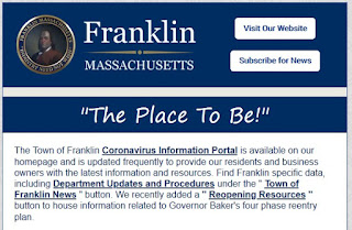 Town of Franklin: July 2020 E-Newsletter