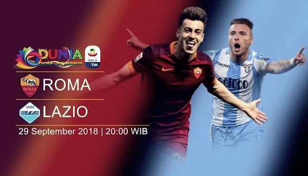 Link trực tiếp AS Roma vs Lazio, 20h00 ngày 29/9 (Vòng 7 Serie A 2018/19)