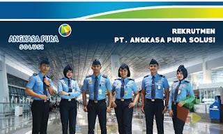 Lowongan Kerja SMK Tangerang Via Online PT Angkasa Pura Solusi (APS)