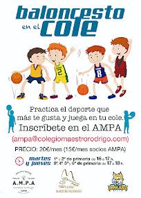 Baloncesto Villa Aranjuez Maestro Rodrigo