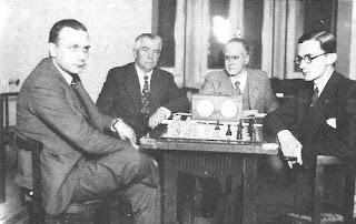 Partida de ajedrez Almirall-Rey del Campeonato de España de Ajedrez de 1934