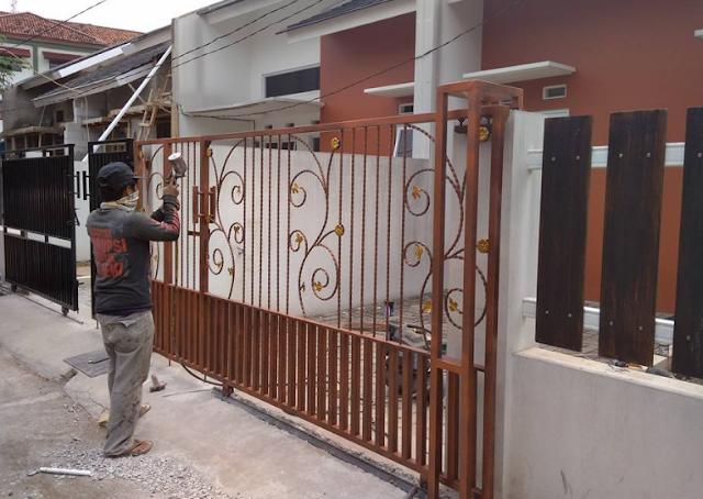 Harga Pagar Minimalis Murah Bekasi Jakarta 087877549186