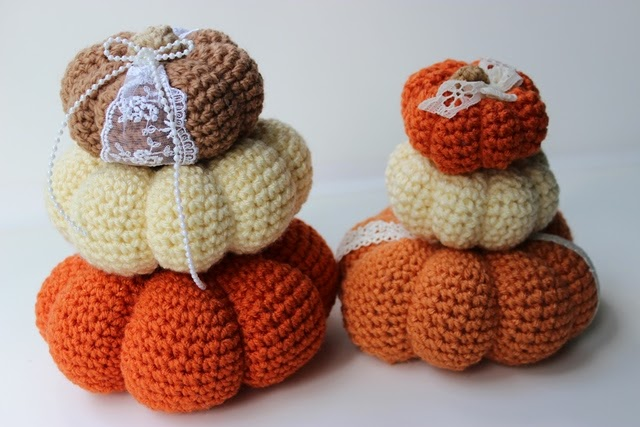 Free Crochet Pumpkin Patterns Krissys Over The Mountain Crochet